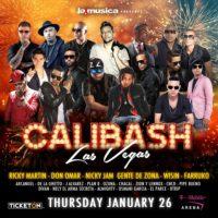 Calibash – El Concierto Latino Más Grande En La Historia De Las Vegas