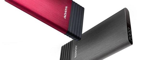 ADATA presenta el Cargador Power Bank X7000