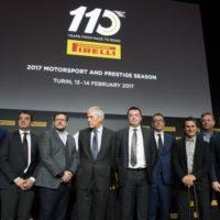 Pirelli celebra 110 años de Motorsport en Turín