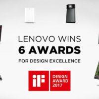 Lenovo galardonada en el iF Design Award