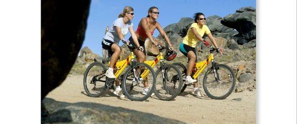 Aruba crea nuevas rutas para los amantes del ciclismo de montaña