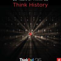 Lenovo celebra el 25 Aniversario de la ThinkPad
