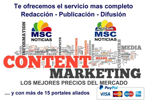 MSC Noticias Latinoamerica - ContentMarketing