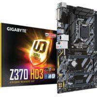 GIGABYTE anunció el lanzamiento de los nuevos motherboards Z370 AORUS Gaming