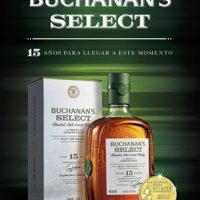 Presentando Buchanan's Select 15-Year-Old Blended Malt Scotch Whisky