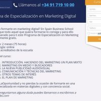 Spain Business School te invita a un curso gratuito sobre marketing digital