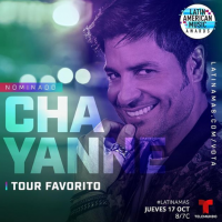 CHAYANNE recibe nominación a los Latin American Music Awards 2019