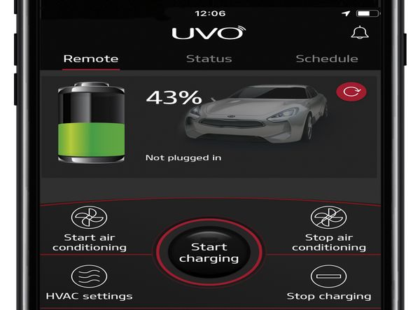 MSC Noticias Latinoamerica - Uvo-Connect-app_Remote-Charging Autos Latam - KIA Com